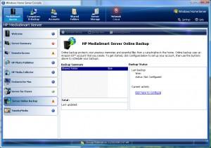 EX487 Server Console Online Backup