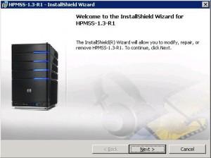 HP MediaSmart Server 1.3-R1 update