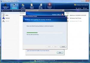 Backup Database Repair