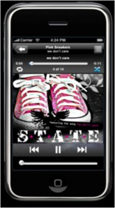 iPhone music viewer