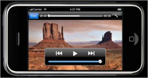 iPhone video viewer
