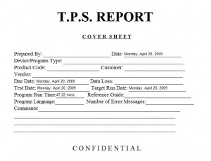 TPS Report Easter Egg