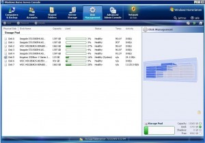 Disk Management view of drives