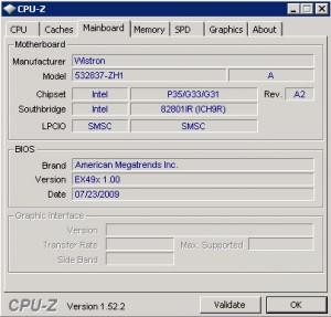CPUZMainboard