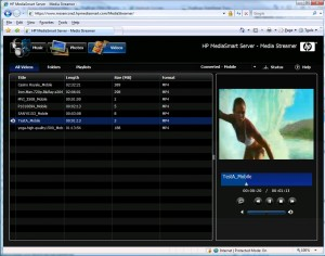 MediaStreamerVideos