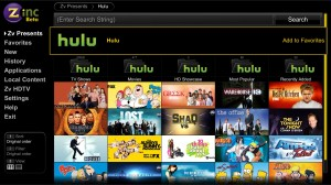 Viewing Online Content With Zinc — MediaSmartServer.net