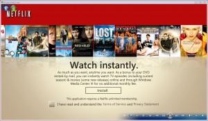 Netflix Install