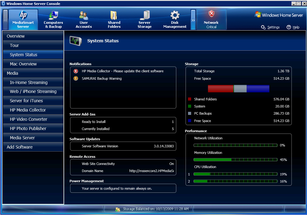 HP releases 3.0 Patch1 for new MediaSmart Servers and Data ...