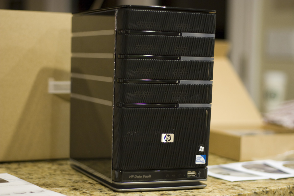 Review Hp Storageworks X510 Data Vault Mediasmartserver Net
