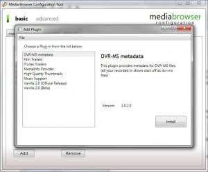 MediaBrowser Configurator A
