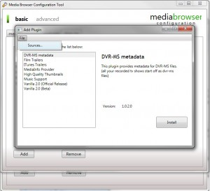 MediaBrowser Configurator B