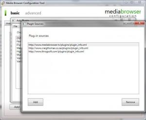 MediaBrowser Configurator C