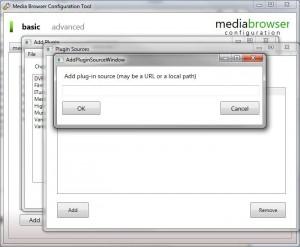 MediaBrowser Configurator D
