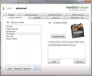 MediaBrowser Configurator E