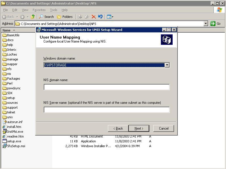 Guide: Setting up NFS in WHS — MediaSmartServer net