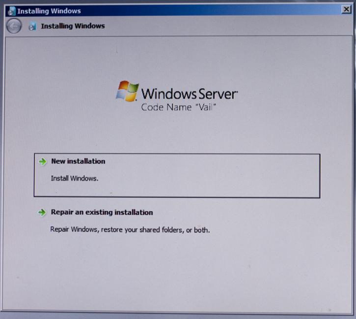 Windows Home Server Vail Installation Guide — MediaSmartServer net