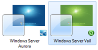 Post image for Windows 7 Aurora and Vail Themes Available
