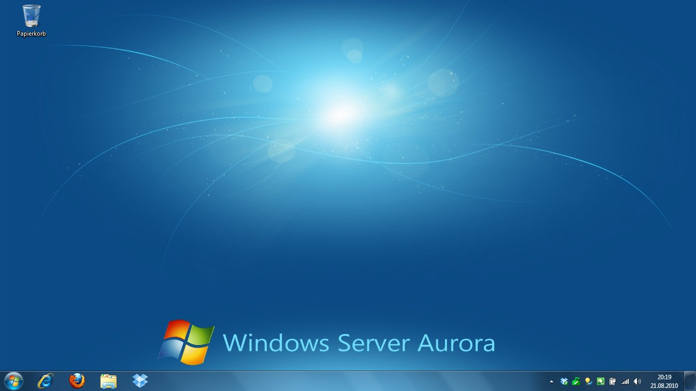 Windows 7 aurora and vail themes available for Windows windows