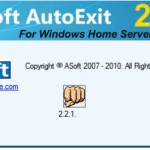 Post image for AutoExit 2010 Beta-1 for Windows Home Server Vail