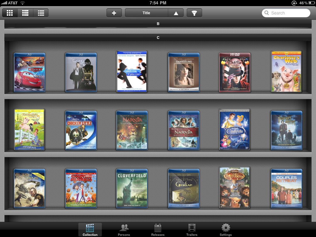 Review My Movies IPad App MediaSmartServer