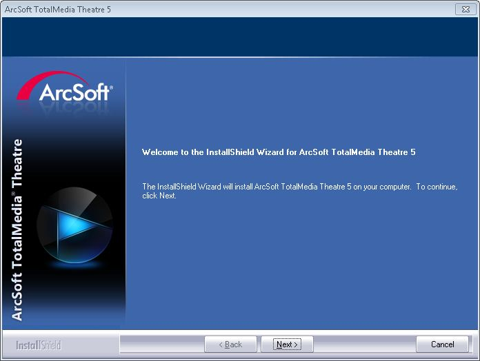 arcsoft totalmedia 3.5 username and licence key