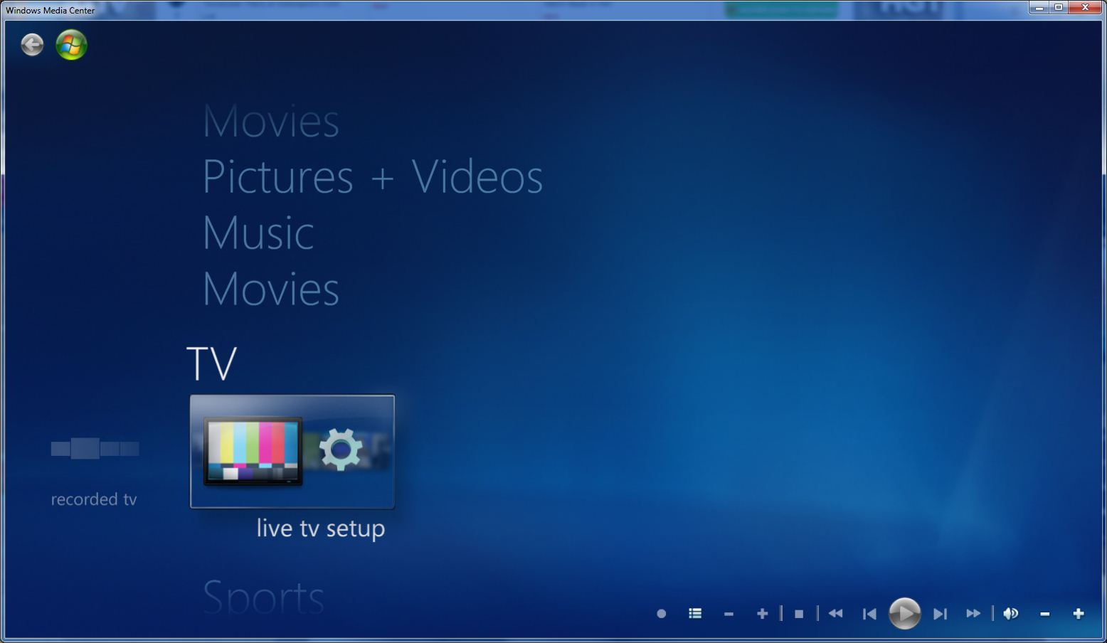 Guide: Setting Up Live TV In Windows Media Center With The ...