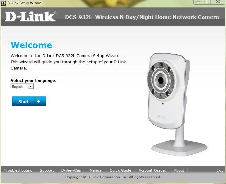 how to set up security cameras over network
