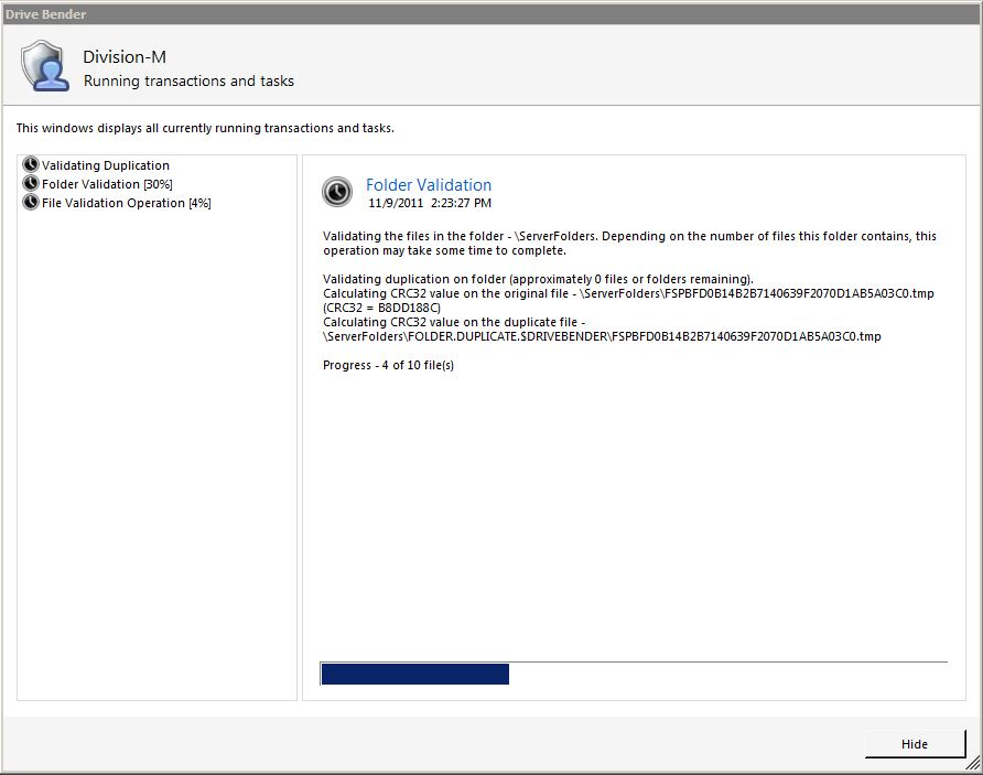 Review: Drive Bender for Windows Home Server 2011 – Part 4