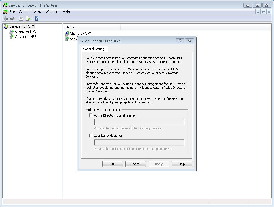 Guide: Setting Up NFS In WHS 2011 — MediaSmartServer net