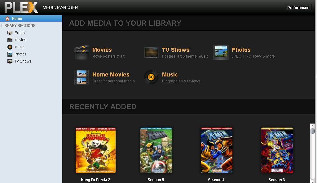 how to add movies to your plex library