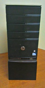 Front of server and base